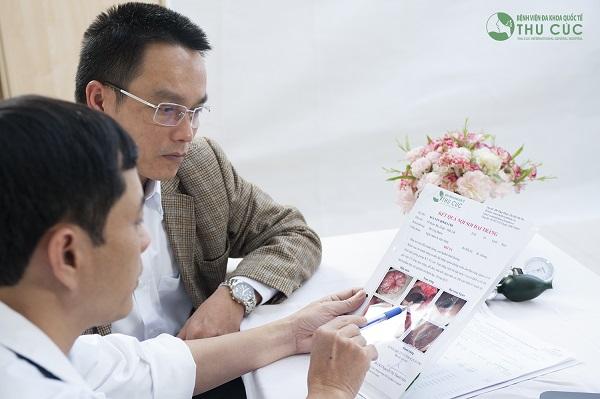 Người bệnh cần tuân thủ theo đúng phương pháp điều trị của bác sĩ để cải thiện sớm tình trạng bệnh