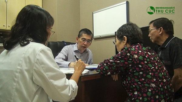 Người bệnh cần đi khám và tuân thủ theo đúng phác đồ điều trị của bác sĩ để đạt hiệu quả cao nhất