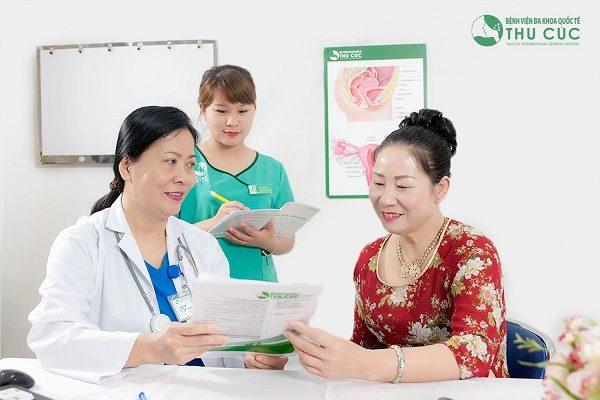 Gói khám tầm soát ung thư Phụ khoa tại BV Thu Cúc