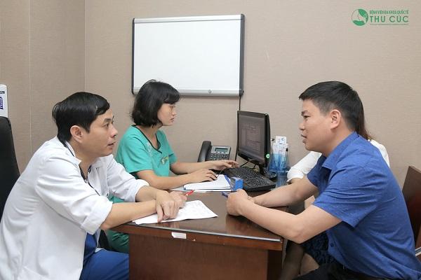Bệnh viện Thu Cúc có đội ngũ bác sĩ chuyên môn giỏi sẽ trực tiếp thăm khám và tư vấn điều trị bệnh hiệu quả