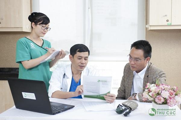 Nhiều người tin tưởng lựa chọn Bệnh viện Thu Cúc để khám, chữa bệnh
