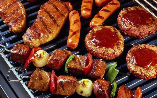 Đồ ăn nướng, nhiều mỡ động vật không tốt cho bệnh nhân ung thư phổi