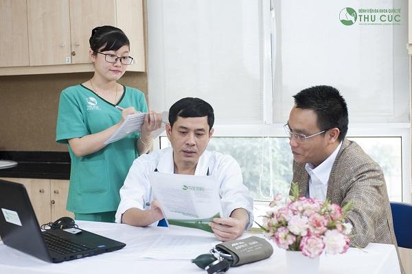 Người bệnh cần đi khám khi có triệu chứng bất thường để bác sĩ chẩn đoán sớm bệnh