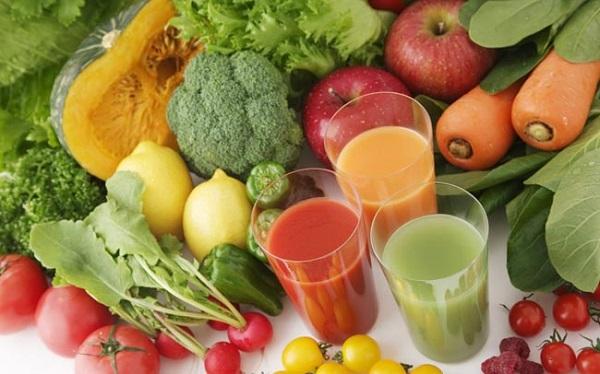 Người bệnh tràn dịch màng phổi nên ăn nhiều rau xanh, củ quả nhằm bổ sung chất xơ và vitamin cần thiết cho cơ thể