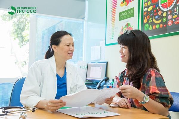Người bệnh cần đi khám để bác sĩ chẩn đoán chính xác tình trạng sức khỏe và tư vấn phương pháp chữa trị hiệu quả