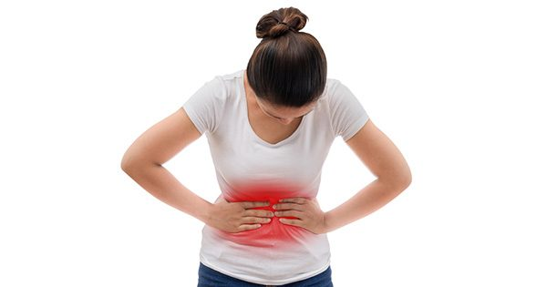 Đau bụng vùng trên rốn và đau dễ lan ra sau lưng là triệu chứng viêm loét dạ dày tá tràng điển hình
