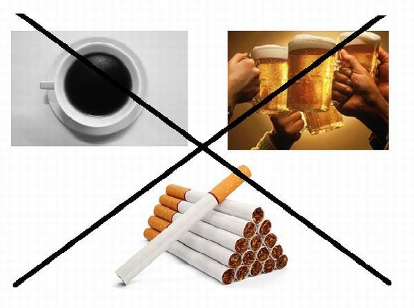 Không uống rượu bia và thuốc lá kết hợp với dùng thuốc theo chỉ định của bác sĩ sẽ giúp điều trị bệnh hiệu quả