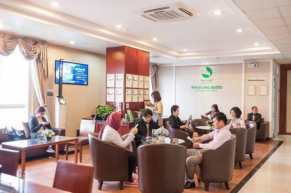 Khoa Ung bướu - Bệnh viện Thu Cúc là địa chỉ khám tầm soát ung thư được đông đảo khách hàng tin tưởng