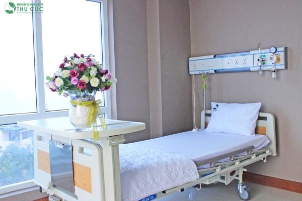 Phòng bệnh điều trị tại Bệnh viện Thu Cúc.