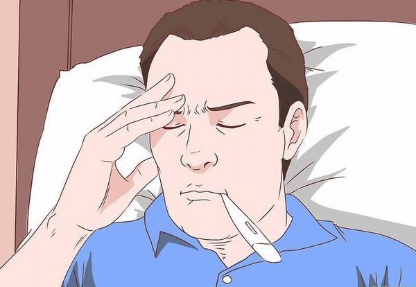Nhiễm virus EBV người bệnh sẽ thấy xuất hiện các triệu chứng sốt, mệt mỏi...