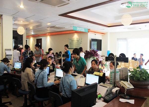 Bệnh viện Thu Cúc được nhiều khách hàng tin tưởng tìm đến khám chữa bệnh