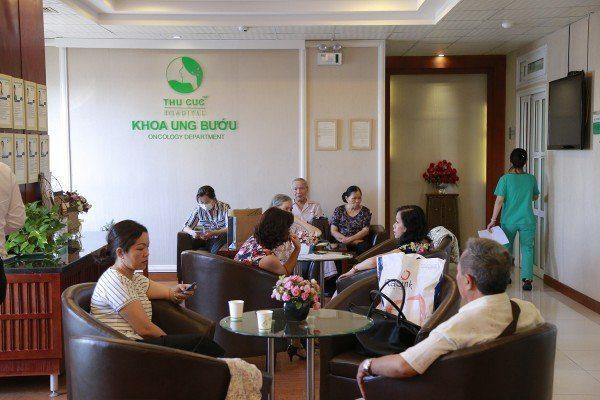 Khoa Ung bướu Bệnh viện Thu Cúc là địa chỉ khám điều trị ung thư tin cậy của nhiều khách hàng