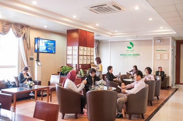 Khoa Ung bướu - Bệnh viện Thu Cúc là địa chỉ khám điều trị ung thư theo tiêu chuẩn Singapore