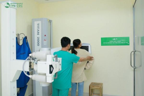 Bệnh viện Thu Cúc được nhiều người tìm đến chụp X-quang tuyến vú
