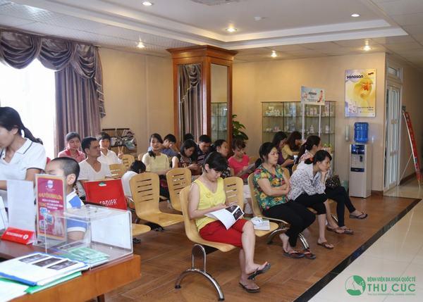Bệnh viện Thu Cúc được nhiều chị em tin tưởng tìm đến khám chữa bệnh