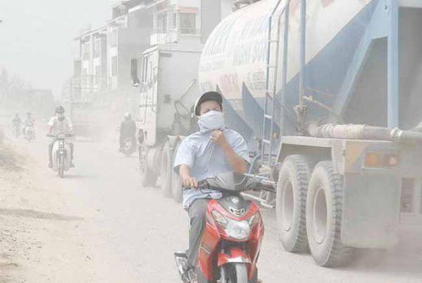 Tác nhân gây ung thư ô nhiễm không khí