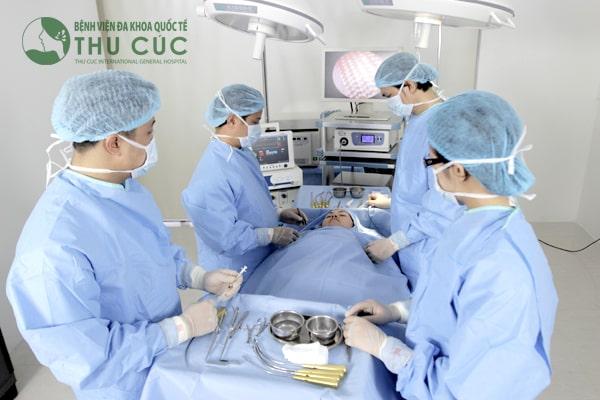 Điều trị ung thư đại tràng tại Bệnh viện Đa khoa Quốc tế Thu Cúc