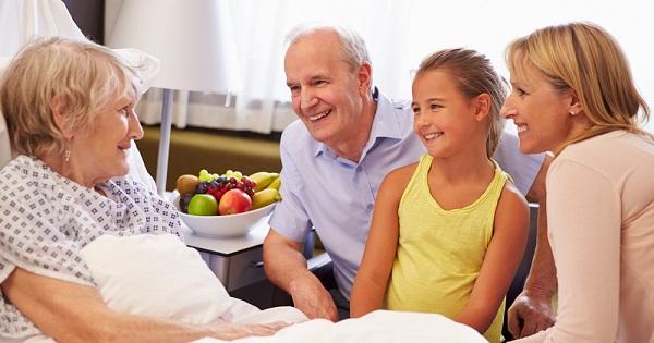 Người bệnh cần chú ý nghỉ ngơi và ăn uống khoa học để cải thiện sức khỏe