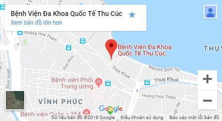 Google Maps Bệnh Viện Đa Khoa Quốc Tế Thu Cúc
