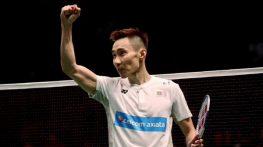 Tượng đài cầu lông Lee Chong Wei chiến thắng ung thư
