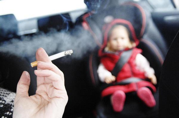hít phải khói thuốc thụ động thời gian dài gây ung thư