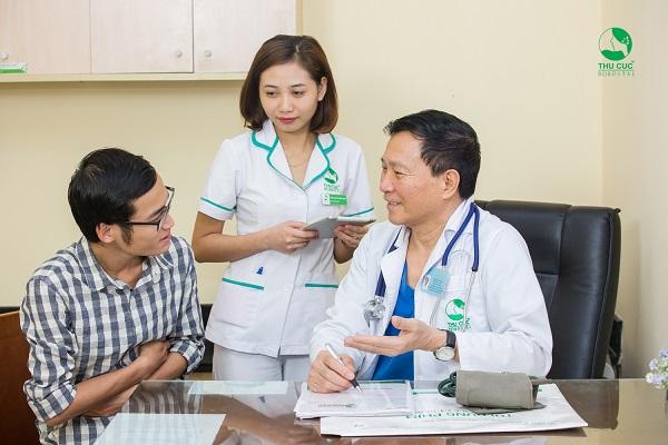 Bệnh viện Thu Cúc có đội ngũ bác sĩ giỏi trực tiếp thăm khám