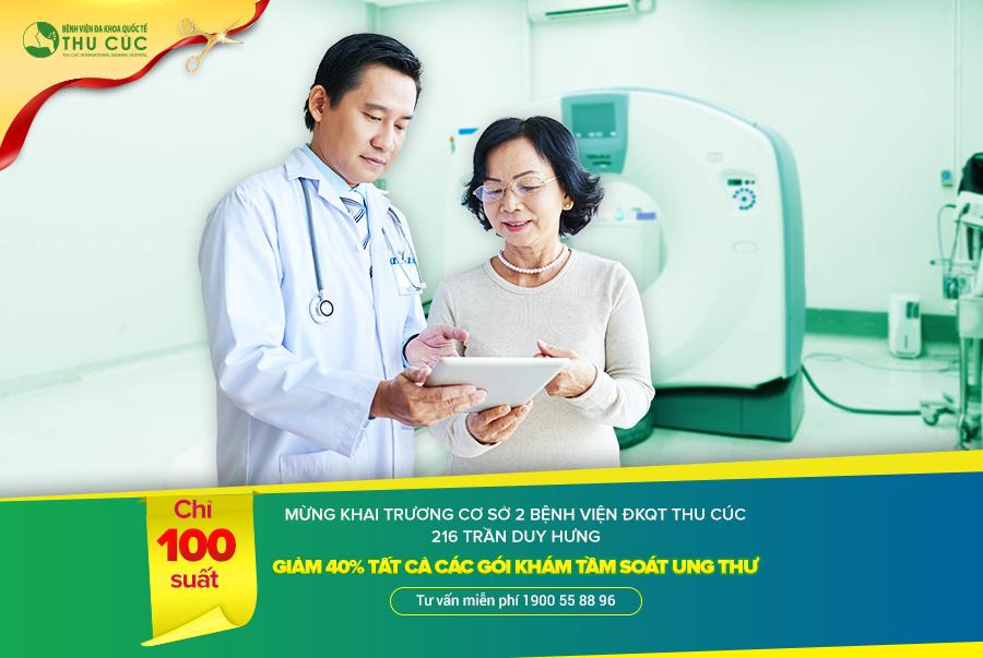 Khai trương phòng khám ĐKQT Thu Cúc: Tầm soát ung thư nhận ngay ưu đãi 40%