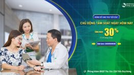 Tặng ngay 30% các gói khám tầm soát ung thư tại phòng khám ĐKQT Thu Cúc